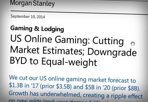 Stanley Report Uncertain on online poker future