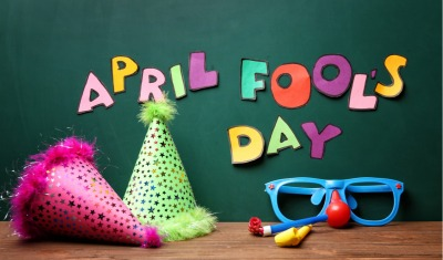 April Fools Day decor