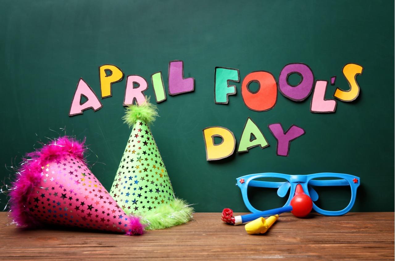April Fools Day decor