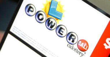 Winning Powerball Ticket California Jackpot October